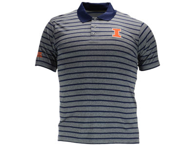 Illinois Fighting Illini NCAA Men's Birdie Poly Polo Shirt