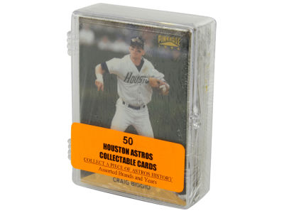 Houston Astros 50 Card Pack-Assorted