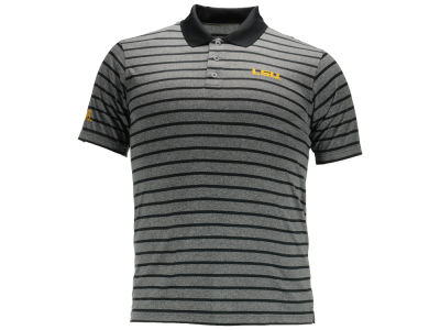LSU Tigers NCAA Men's Birdie Poly Polo Shirt