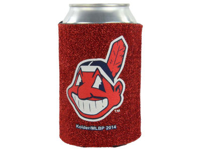 Cleveland Indians Glitter Can Coozie