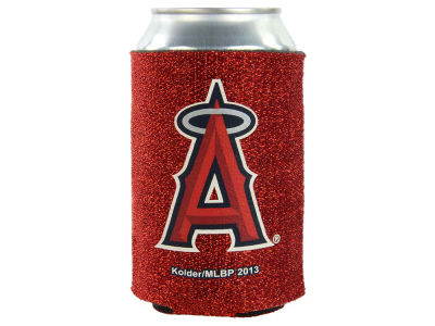Los Angeles Angels Glitter Can Coozie