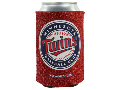 Minnesota Twins Glitter Can Coozie