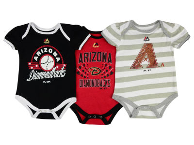 Arizona Diamondbacks MLB Newborn Girls TP Bodysuit Set
