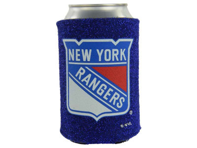 New York Rangers Glitter Can Coozie