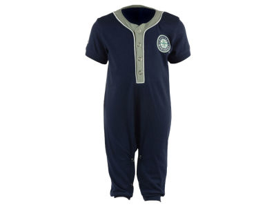 Seattle Mariners Majestic MLB Newborn Outfield Coverall