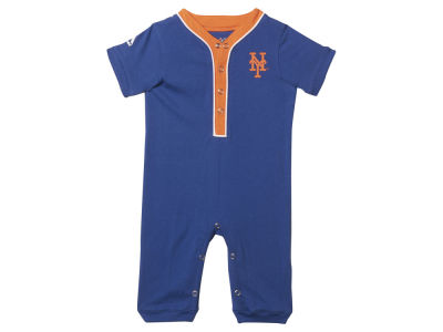 New York Mets MLB Newborn Outfield Coverall