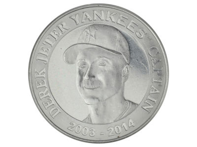 New York Yankees Derek Jeter Derek Jeter Retirement Minted Coin