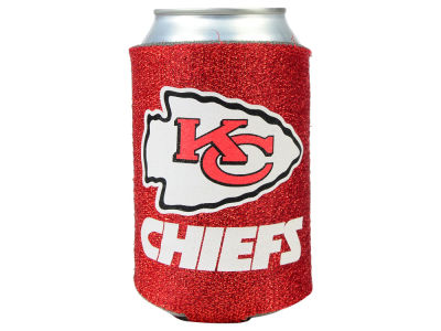 Kansas City Chiefs Glitter Can Coozie