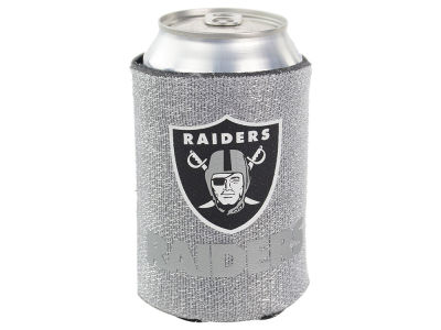 Oakland Raiders Glitter Can Coozie