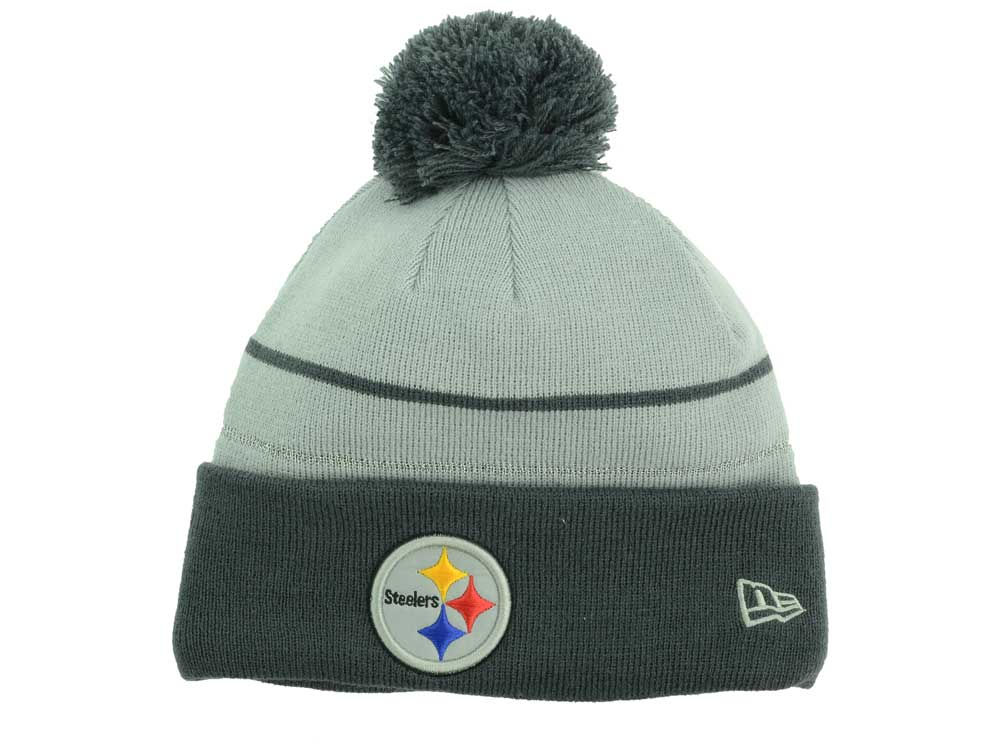 9ef816150 Pittsburgh Steelers New Era NFL Thanksgiving On Field Reflective Sport Knit