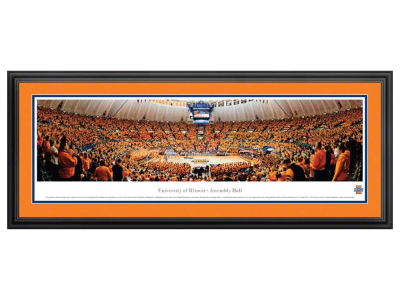 Illinois Fighting Illini Blakeway Panoramic Standard Frame