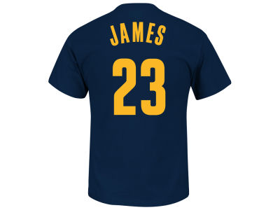 Cleveland Cavaliers LeBron James NBA Kids Name And Number T-Shirt