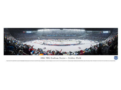 Chicago Blackhawks Panoramic Unframed