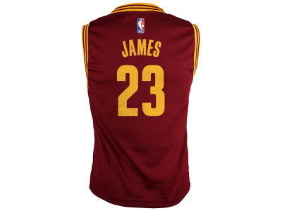 Cleveland Cavaliers LeBron James NBA Kids Replica Jerseys