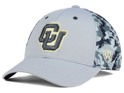 Colorado Buffaloes Top of the World NCAA Pursuit M-Fit Cap
