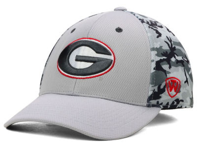 Georgia Bulldogs Top of the World NCAA Pursuit M-Fit Cap