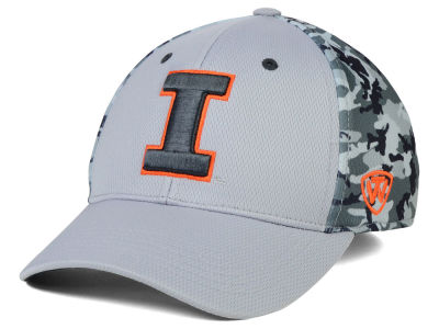 Illinois Fighting Illini Top of the World NCAA Pursuit M-Fit Cap