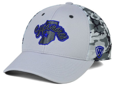 Indiana State Sycamores Top of the World NCAA Pursuit M-Fit Cap