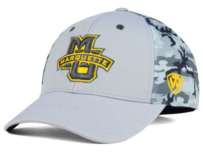 Marquette Golden Eagles Top of the World NCAA Pursuit M-Fit Cap