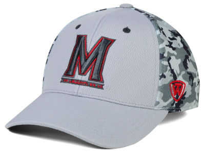 Maryland Terrapins Top of the World NCAA Pursuit M-Fit Cap