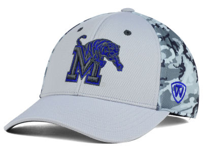 Memphis Tigers Top of the World NCAA Pursuit M-Fit Cap