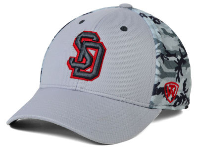 South Dakota Coyotes Top of the World NCAA Pursuit M-Fit Cap