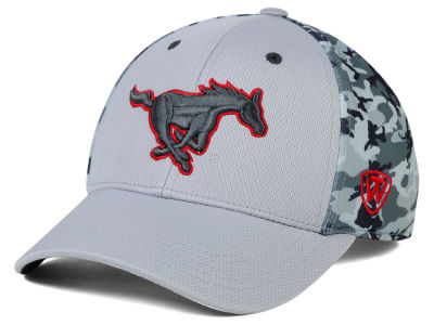 Southern Methodist Mustangs Top of the World NCAA Pursuit M-Fit Cap
