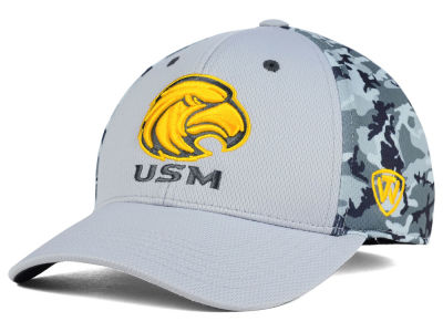 Southern Mississippi Golden Eagles Top of the World NCAA Pursuit M-Fit Cap