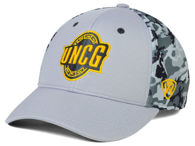 UNC Greensboro Spartans Top of the World NCAA Pursuit M-Fit Cap