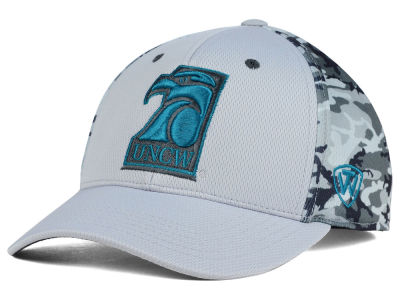 UNC Wilmington Seahawks Top of the World NCAA Pursuit M-Fit Cap