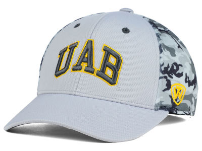 Alabama Birmingham Blazers Top of the World NCAA Pursuit M-Fit Cap