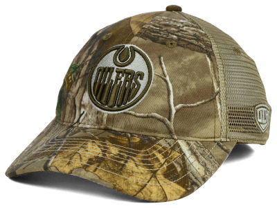 Edmonton Oilers Old Time Hockey NHL Bexar RT Trucker Snapback Hat