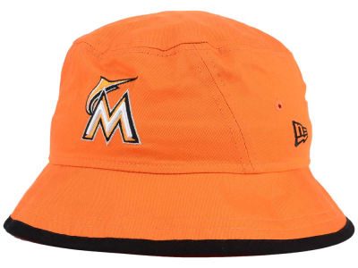 Miami Marlins New Era MLB Bucket-Dub Cap