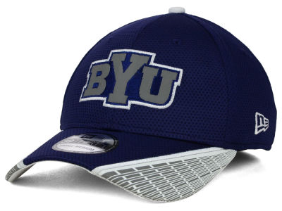 Brigham Young Cougars New Era NCAA Training Mesh 39THIRTY Cap