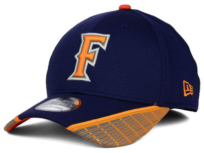 Cal State Fullerton Titans New Era NCAA Training Mesh 39THIRTY Cap