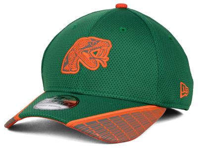 Florida A&M Rattlers New Era NCAA Training Mesh 39THIRTY Cap
