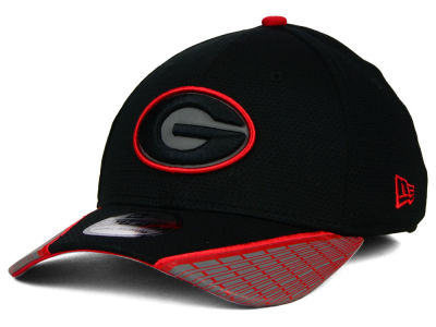 Georgia Bulldogs New Era NCAA Training Mesh 39THIRTY Cap