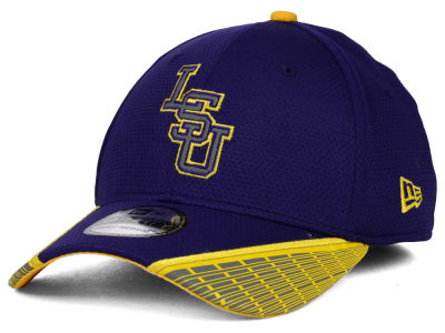 LSU Tigers New Era NCAA Training Mesh 39THIRTY Cap