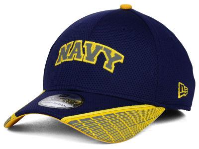 new style 1601c d299f Navy Midshipmen New Era NCAA Training Mesh 39THIRTY Cap   lids.com