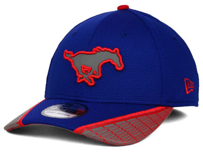 Southern Methodist Mustangs New Era NCAA Training Mesh 39THIRTY Cap