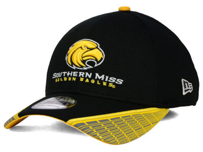 Southern Mississippi Golden Eagles New Era NCAA Training Mesh 39THIRTY Cap