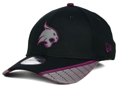 Texas State Bobcats New Era NCAA Training Mesh 39THIRTY Cap