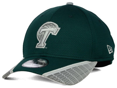 Tulane Green Wave New Era NCAA Training Mesh 39THIRTY Cap