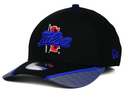 Tulsa Golden Hurricane New Era NCAA Training Mesh 39THIRTY Cap