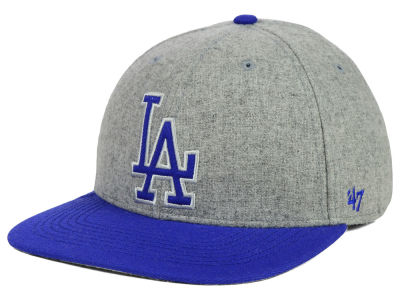 Los Angeles Dodgers '47 MLB Coop Gray Hoffman '47 Pro Fitted Cap