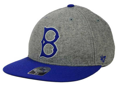 Brooklyn Dodgers '47 MLB Coop Gray Hoffman '47 Pro Fitted Cap