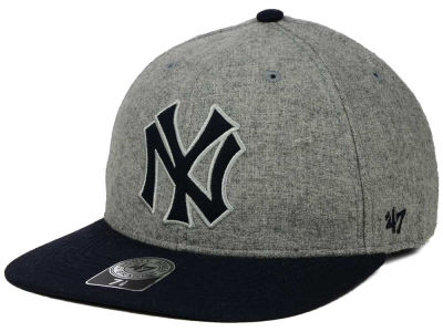 New York Yankees '47 MLB Coop Gray Hoffman '47 Pro Fitted Cap