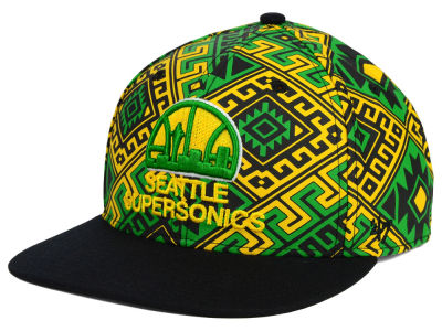Seattle SuperSonics '47 NBA HWC Bissau Snapback Cap