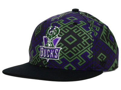Milwaukee Bucks '47 NBA HWC Bissau Snapback Cap