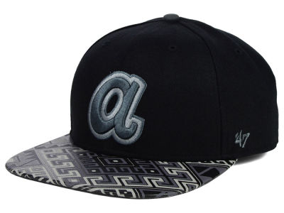 Atlanta Braves '47 MLB Coop Moroc '47 Pro Fitted Cap